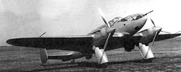 Противотанковый ударный самолет вит-2.