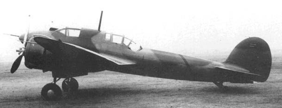 Прототипы тяжелого истребителя kawasaki ki-45 (01-03,07). япония