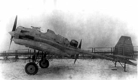 Пушечный истребитель и-12 (ант-23).