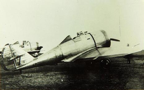 Пушечный истребитель ип-1 (дг-52).