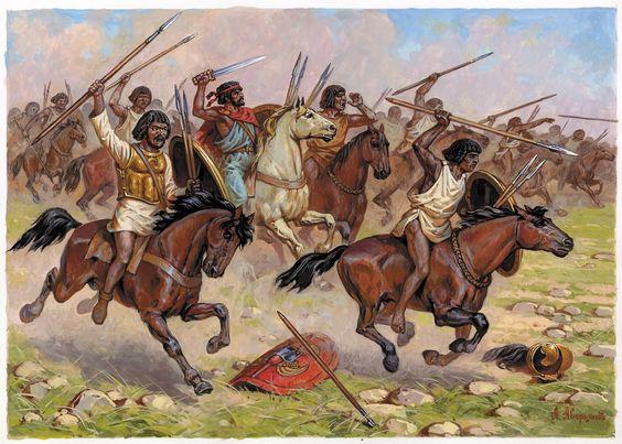 Quarthadast. глава ii - иарбантова война и магон i