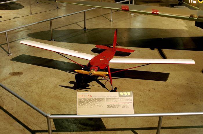 Radioplane q-1. технические характеристики. фото.