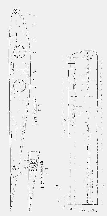 Радиоуправляемая модель кросового планера- универсала класса f3b