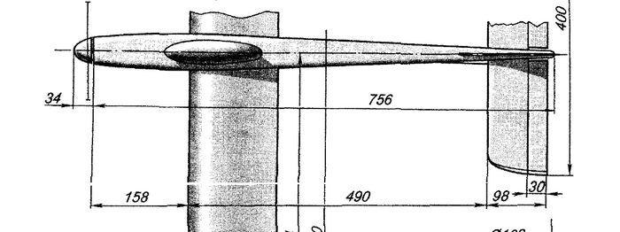 Радиоуправляемый электропланер