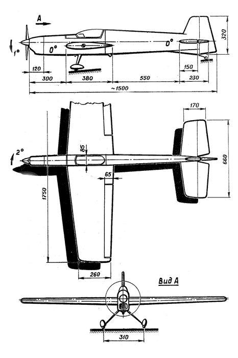 Радиоуправляемый самолет класса f3a