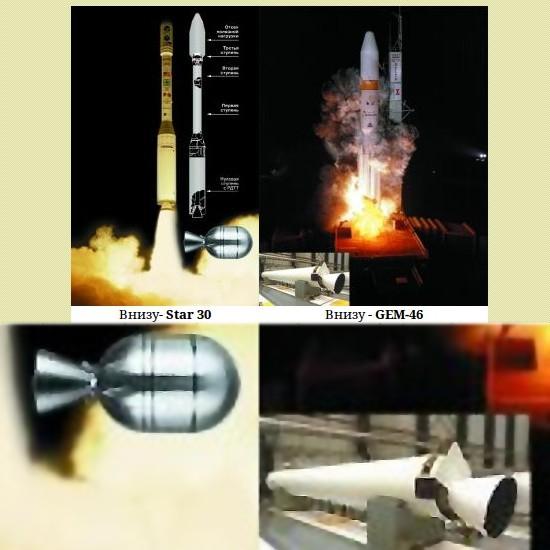Ракетные двигатели твердого топлива в космических программах сша