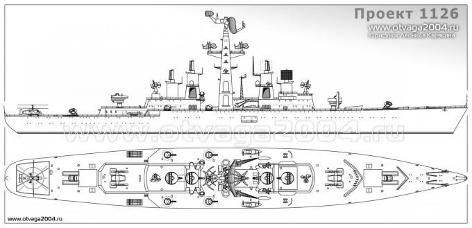 Ракетный корабль пво проекта 1126. ссср