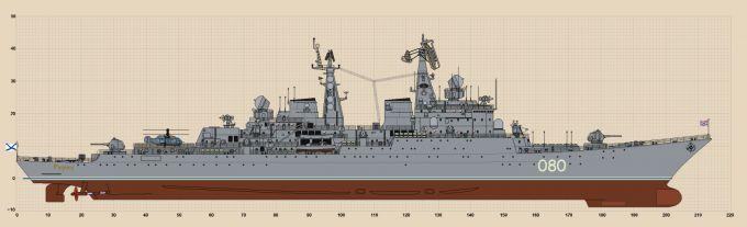 Ракетный крейсер рюрик - отдам в хорошие руки (орлы отечества)
