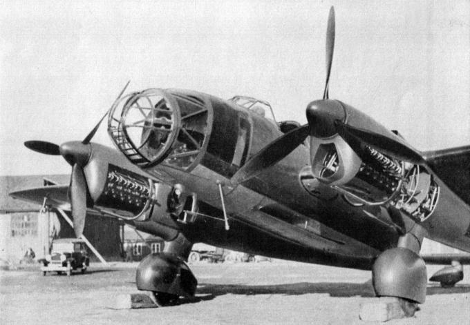 Рама из праги. опытный фронтовой разведчик е-51