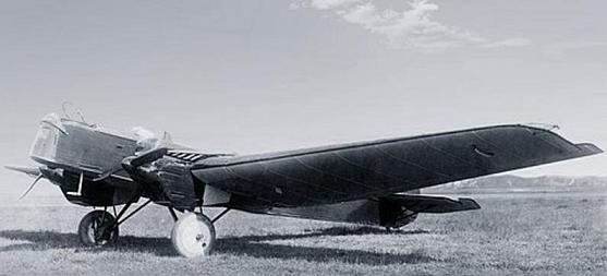 Разведчик-бомбардировщик р-6 (ант-7).