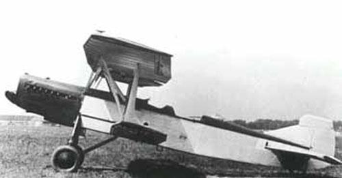 Разведчик-бомбардировщик р-7 (ант-10).
