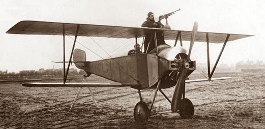 Разведчик-истребитель nieuport n.10.