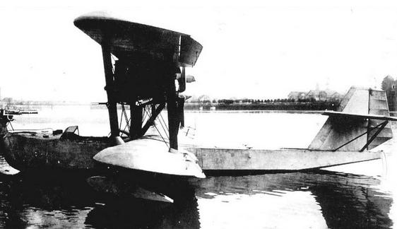 Разведывательная летающая лодка мр-5.