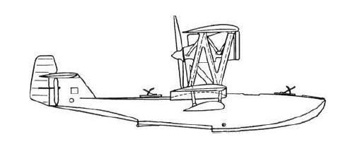 Разведывательная летающая лодка мрл-1.