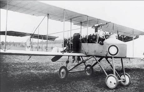 Разведывательный и наблюдательный самолет farman f.27.