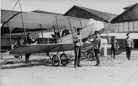 Разведывательный и наблюдательный самолет farman f.15/16.