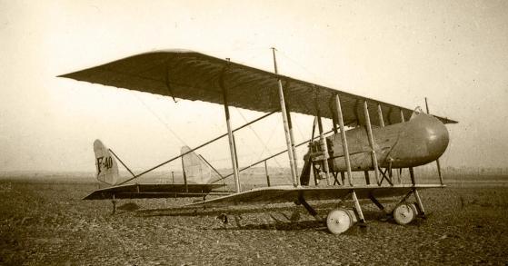 Разведывательный и наблюдательный самолет farman hf.40 «horace».