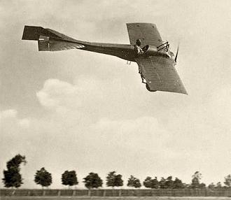 Разведывательный самолет deperdussin в / tt.