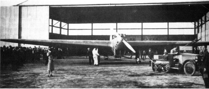 Рекордный самолет bernard 80 gr. франция