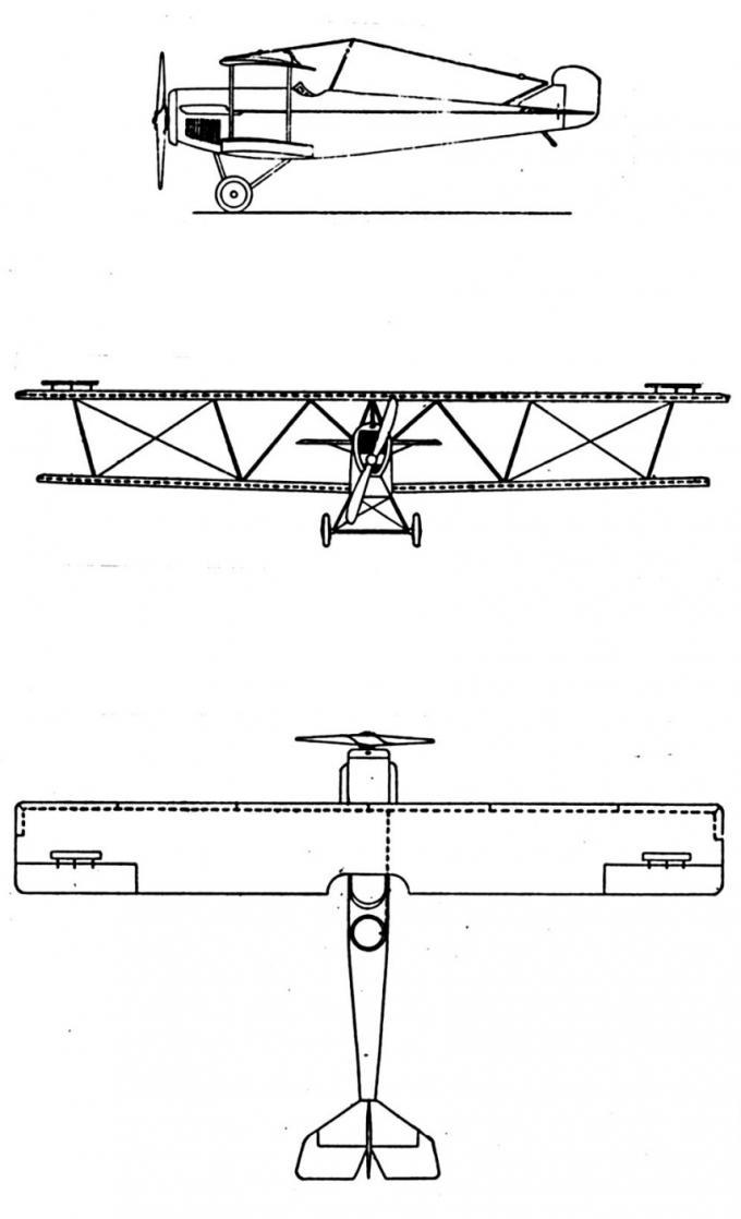 Рекордный самолет fiat a.r.f.. италия