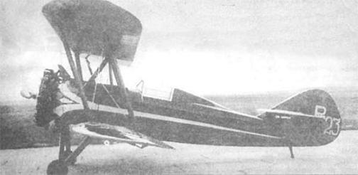 Рекордный самолет рв-23.