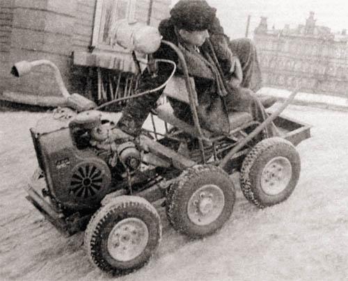 Рем уланов «укрощение танка на «сороконожке»»