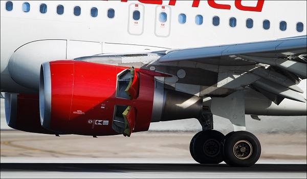Реверс самолета. реверс двигателя самолета. видео.