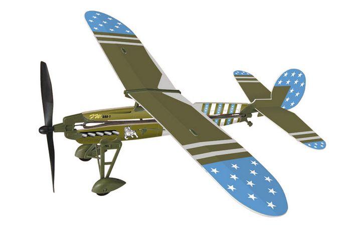Резиномоторная моделей самолета