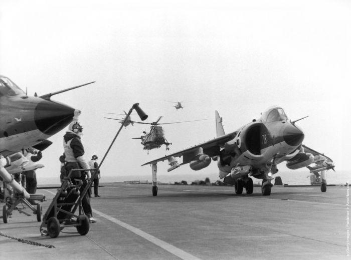 Роль сввп в фолклендском конфликте 1982 г. (часть 4)