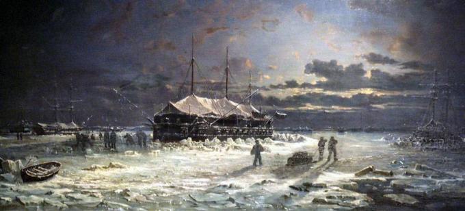 Русские броненосные корабли крымской войны (орлы отечества)