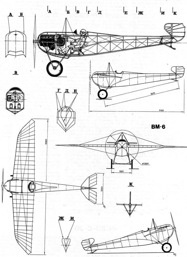 Русские истребители первой мировой войны. контристребитель виллиша вм-6.