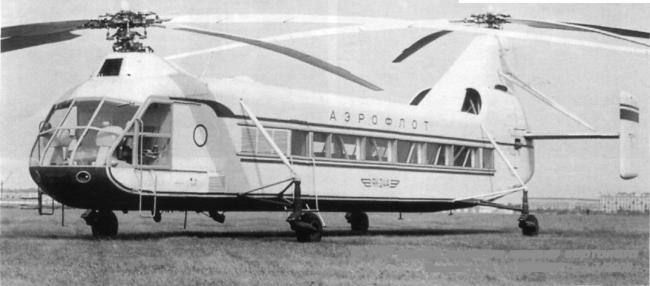 Русский чинук - вертолёт як-24. ссср