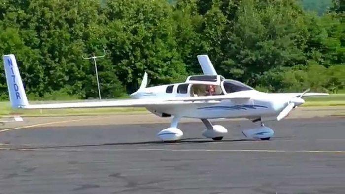 Rutan skigull. технические характеристики. фото.