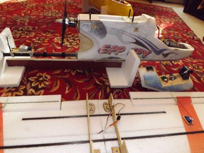 Рвдиоуправляемая модель самолета – верхнеплана «сириус»