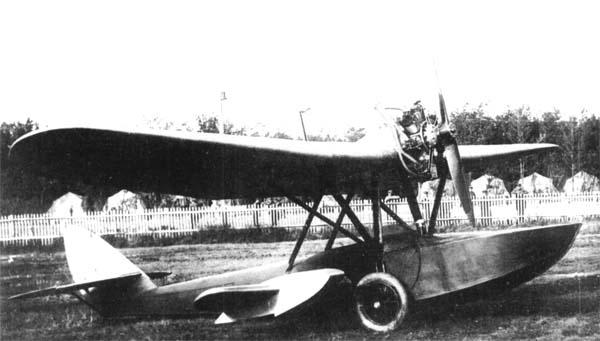 Самолет-амфибия ш-1.