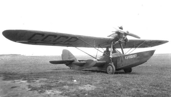 Самолет-амфибия ш-2.