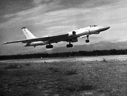 Самолет целеуказания ту-16рм.