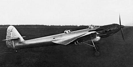 Самолет для дальних перелетов бок-15.
