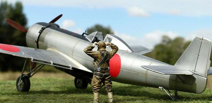 Самолет для специальных штурмовых атак nakajima ki-115 tsurugi (?? ?115 ?). япония