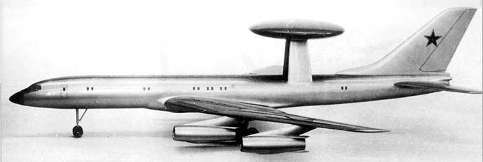 Самолет дрло ту-156 (проект).