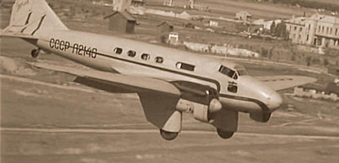 Самолет инженера кулева