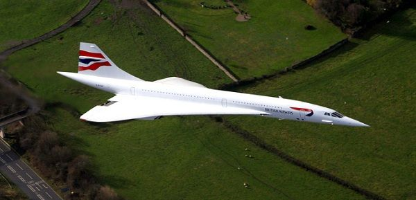 Самолет конкорд - aerospatiale - bac concorde. фото. видео.