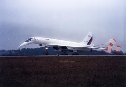 Самолет — летающая лаборатория ту-144лл.