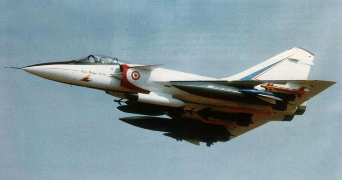 Самолет мечты. опытный многоцелевой истребитель mirage 4000. франция часть 2