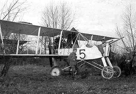 Самолет непосредственной поддержки войск «voisin lb» (lbp, lbr).