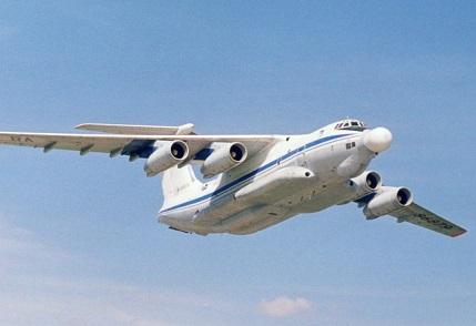 Самолет носитель лазерного оружия а-60.