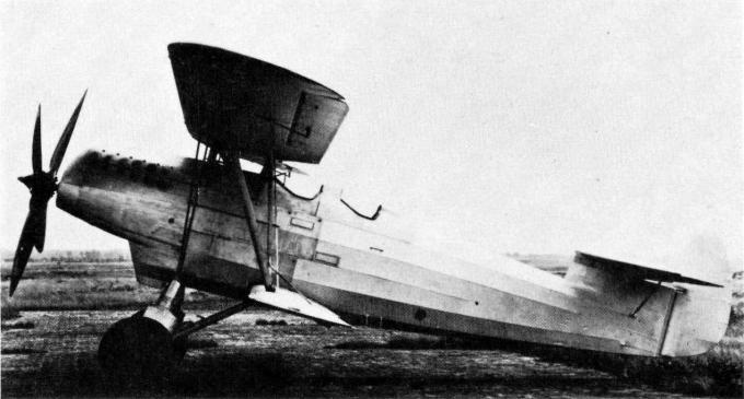 Самолет-разведчик albatros l 84. германия