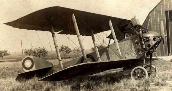 Самолет-разведчик анатра «анасаль» (анатра дс).