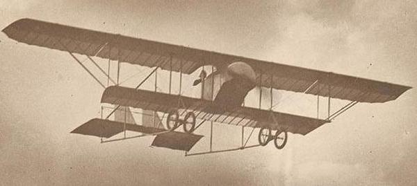 Самолет-разведчик caudron g.iii.