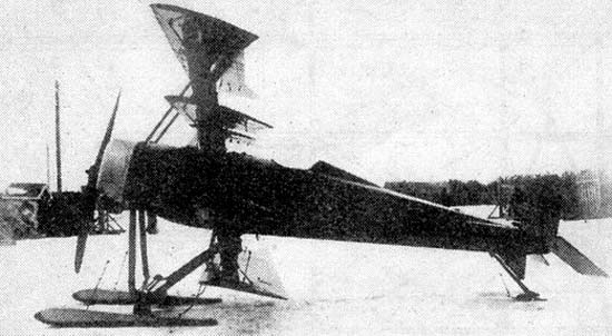 Самолет-разведчик «четырехплан савельева».